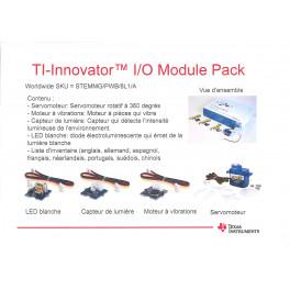 TI-Innovator I/O Module pack